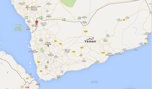 Le missile a touché l'hôpital soutenu par Médecins sans frontières à Razeh Rajeh, dans la province de Saada, dans le nord du Yémen.