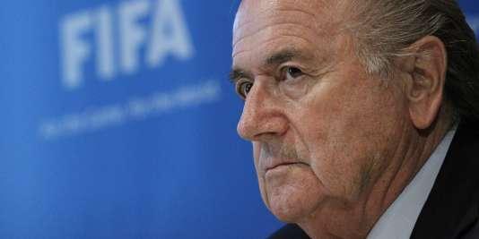L'ex-président de la FIFA, Sepp Blatter, en 2010.