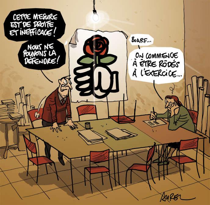 Déchéance de nationalité et militants PS.