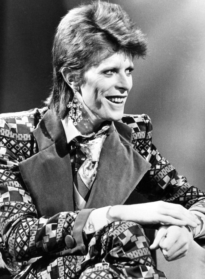 David Bowie, en janvier 1974.