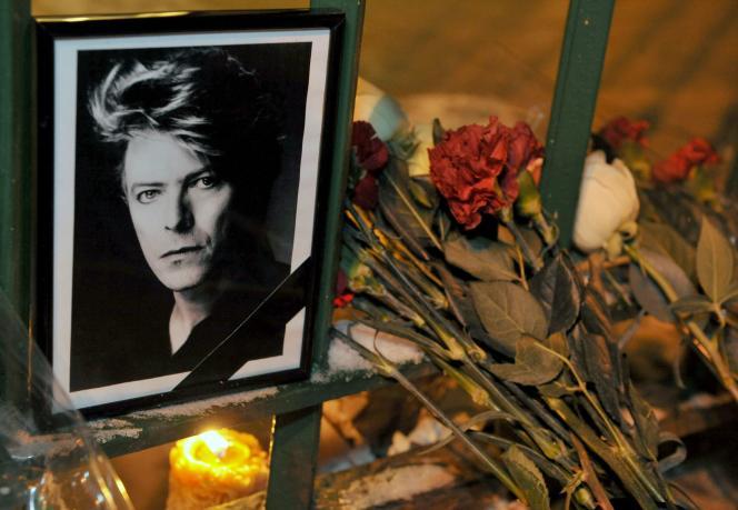 Le portrait de David Bowie, le 11 janvier 2016.