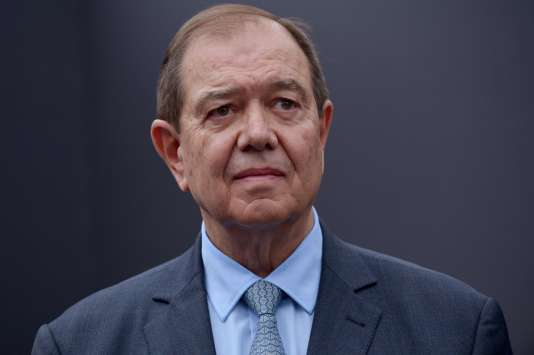Le maire de Rueil-Malmaison, Patrick Ollier, le 11 janvier.