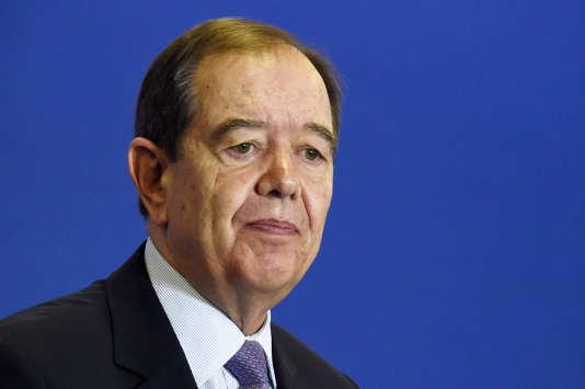 Patrick Ollier  a été élu président du conseil de la métropole du Grand Paris, vendredi 22 janvier.