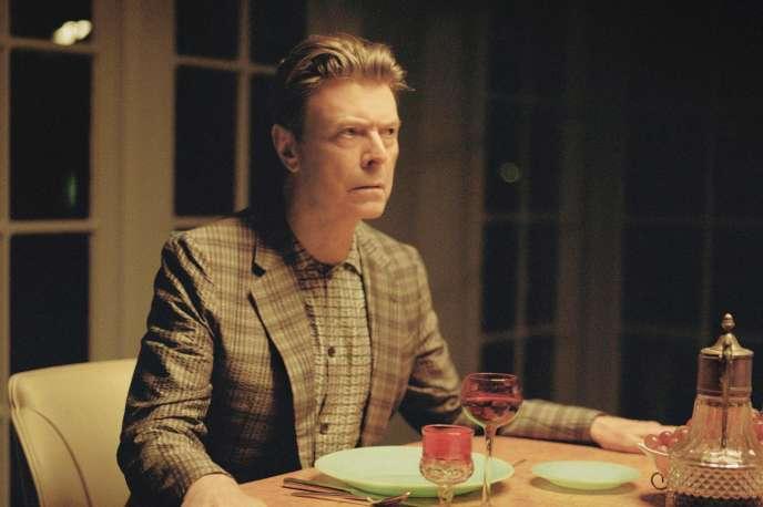 Photographie de David Bowie tirée du vidéo clip