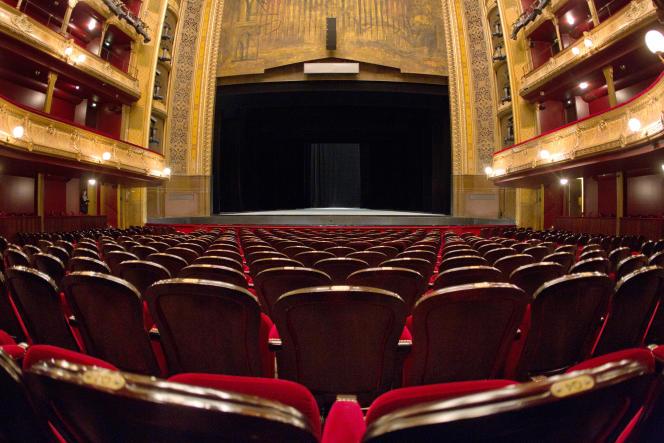 Le théâtre du Châtelet à Paris.