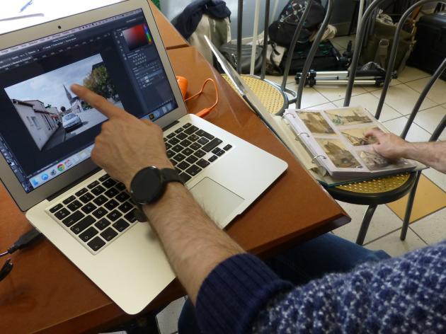 Lors de l'« opération libre » de Chéméré, en septembre, des bénévoles ont fouillé dans les archives des habitants pour améliorer les articles sur la commune.