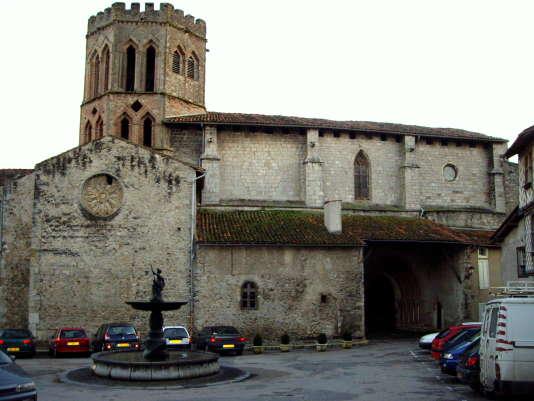 La cathédrale de Saint-Lizier (Ariège).