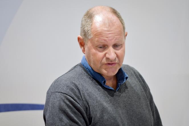 Dan Eliasson. le directeur de la police nationale suédoise, lors d'une conférence de presse à Sälen, le 11 janvier.