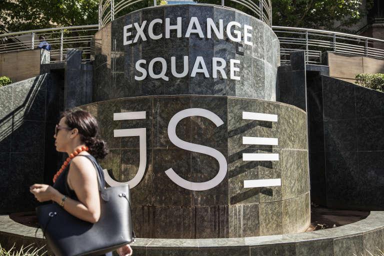 La Bourse de Johannesburg (Afrique du Sud), en mars 2015.
