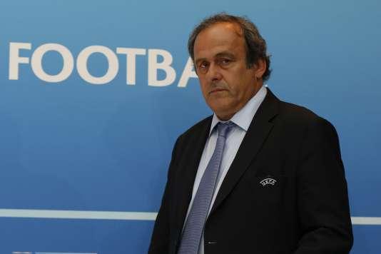 Michel Platini, en 2015.