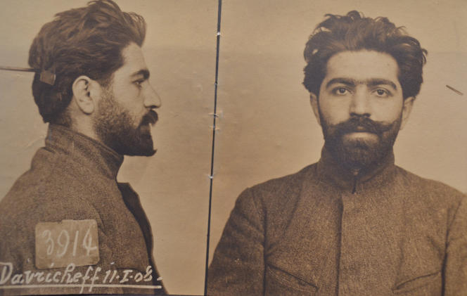Joseph Davrichewy, 1908.