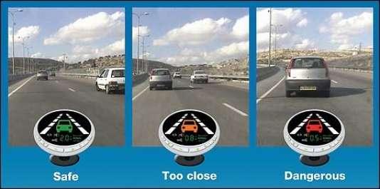 La technologie de Mobileye assiste les conducteurs en leur  offrant une plus grande sécurité.