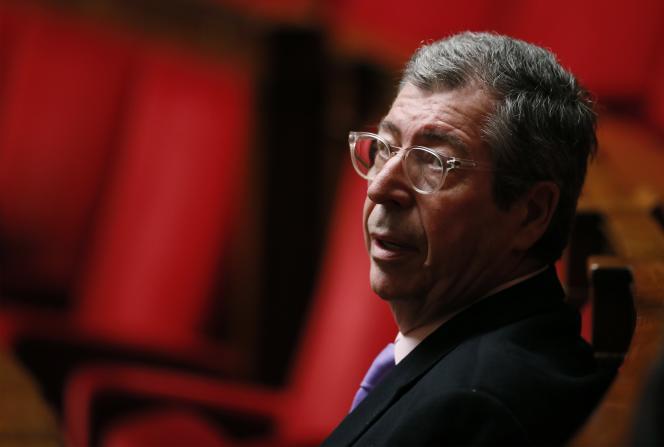 Le député-maire de Levallois-Perret, Patrick Balkany, le 12 janvier à l'Assemblée.