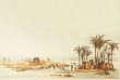 La crue du Nil, gravure duXIXesiècle.