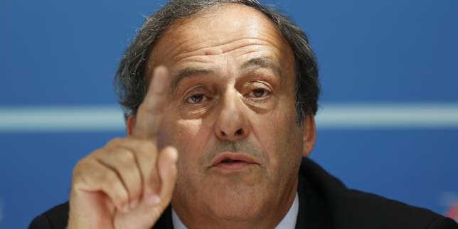 Michel Platini, en 2015 à Monaco.