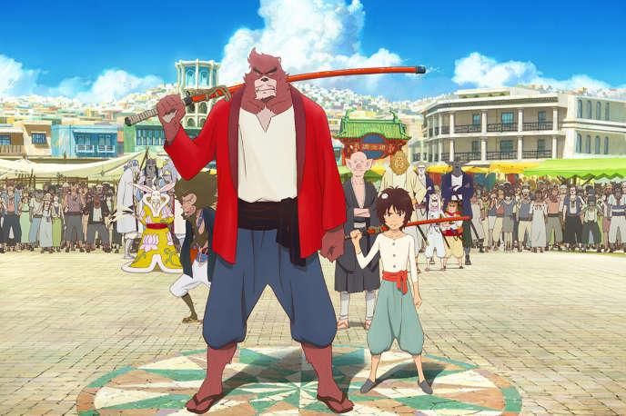 Une image du film d'animation japonais de Mamoru Hosoda,