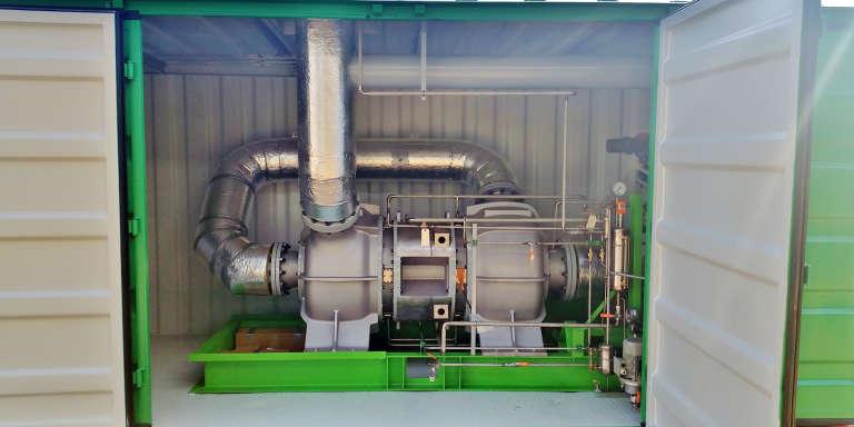 Le premier projet commercial  de récupération de chaleur de la société Aqylon a été lancé le 21 janvier 2016.