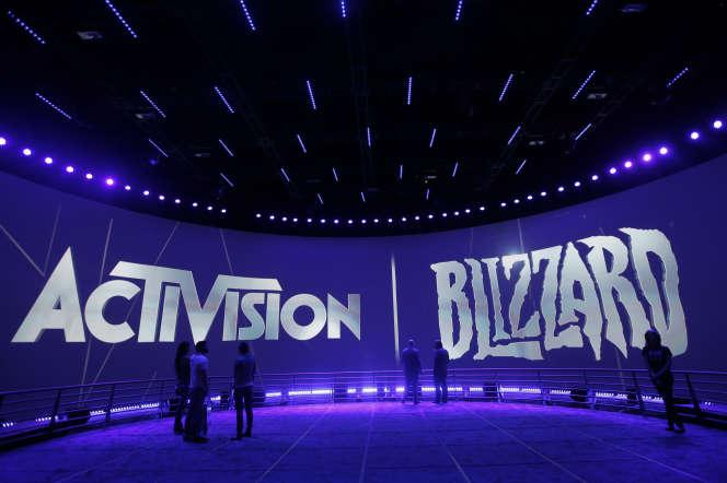 Le stand d'Activision Blizzard à l'Electronic Entertainment Expo de Los Angeles, en janvier 2013.