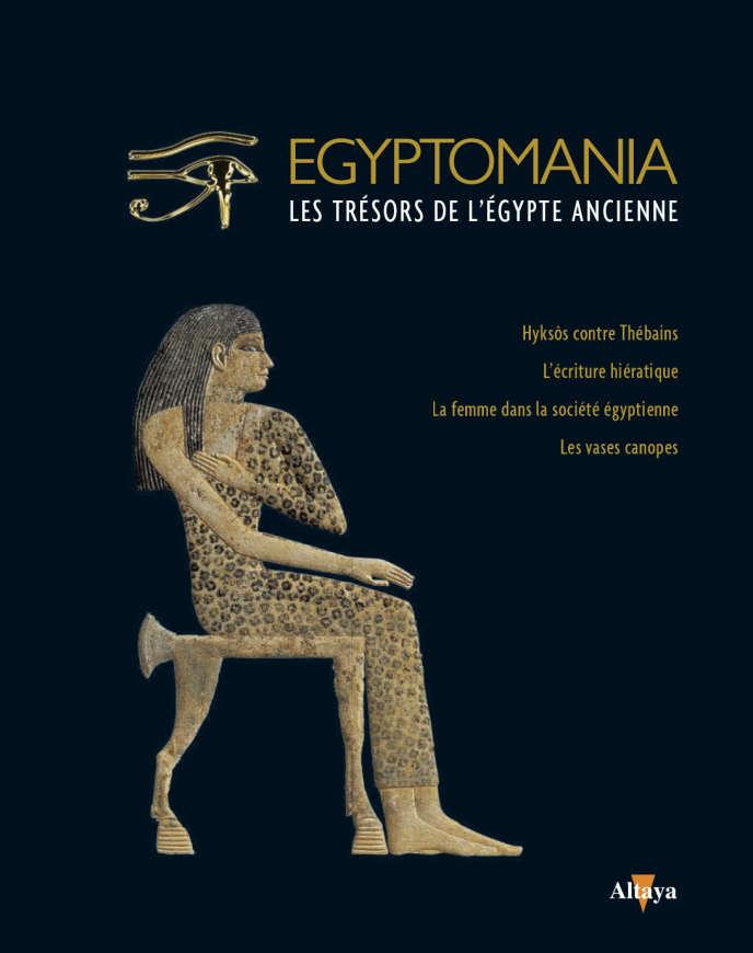 La couverture du huitième volume de la collection « Le Monde »/Altaya «Egyptomania».