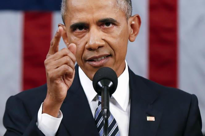 Barack Obama a profité de son adresse au Congrès pour répondre aux critiques faites par les républicains en campagne.