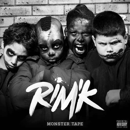 Pochette de l'album « Monster», de Rim'K.