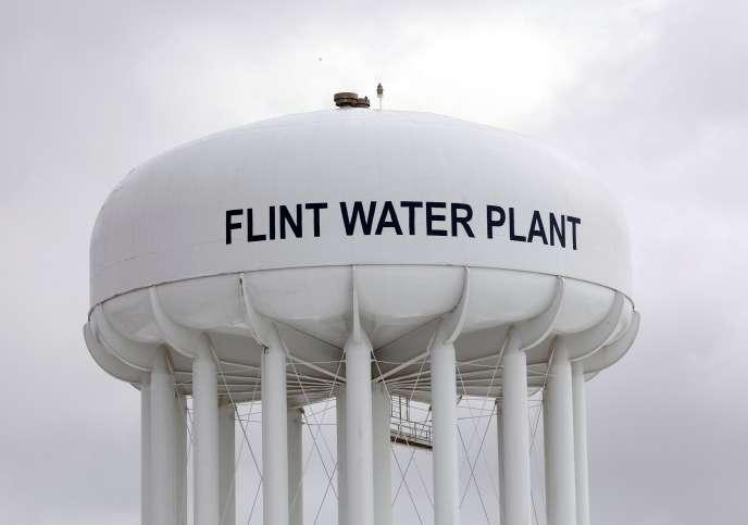 L'eau de Flint, dans le Michigan, est contaminée au plomb.