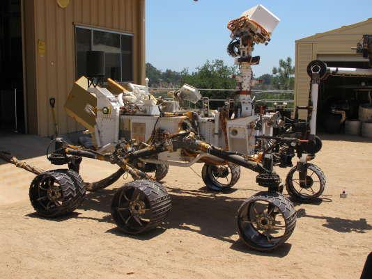 Curiosity, le robot d'exploitation martienne.