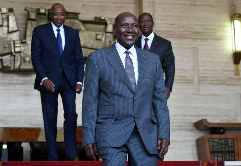 Le premier ministre ivoirien Daniel Kablan Duncan à Abidjan, le 12 janvier 2016.