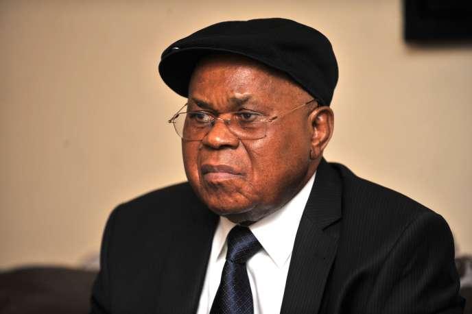 Etienne Tshisekedi, ici en 2012 à Kinshasa.
