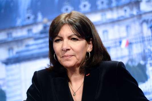 Anne Hidalgo, maire de Paris, le 13 janvier 2016. / AFP / BERTRAND GUAY