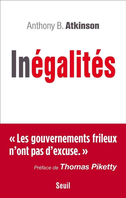 """Première de couverture du livre """"Inégalités"""" d'Anthony B. Atkinson."""