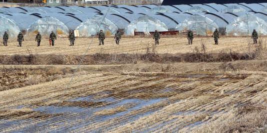 La Corée du Sud a repris vendredi sa guerre de propagande à la frontière avec la Corée du Nord.