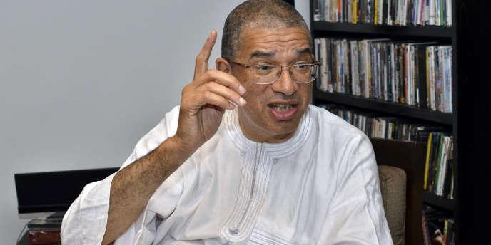 Lionel Zinsou, premier ministre du Bénin, candidat à l'élection présidentielle du 28 février 2016.