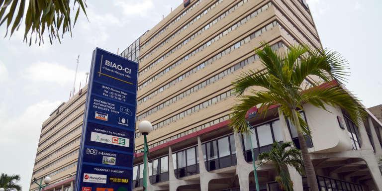 Le siège de la banque BIAO-CI à Abidjan en Côte d'Ivoire.