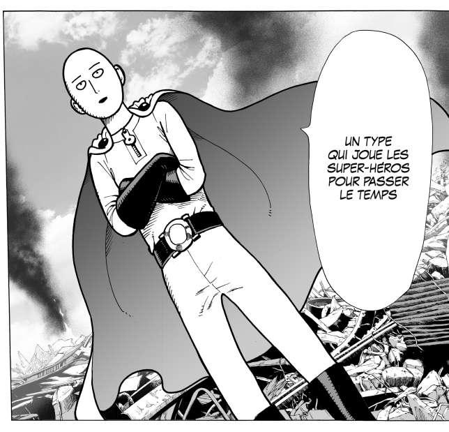 Saitama aka One-Punch man