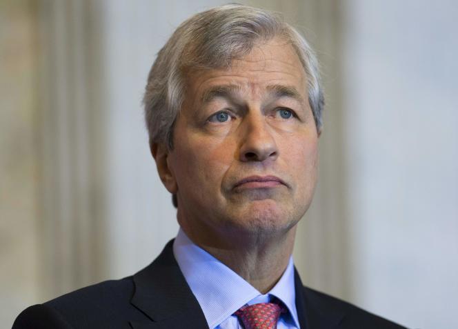 James Dimon, le patron de JPMorgan, en décembre 2015.