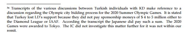 La note 36 du rapport de la commission indépendante.