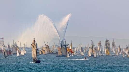 Les Fêtes maritimes internationales de Brest ont lieu tous les 4 ans.