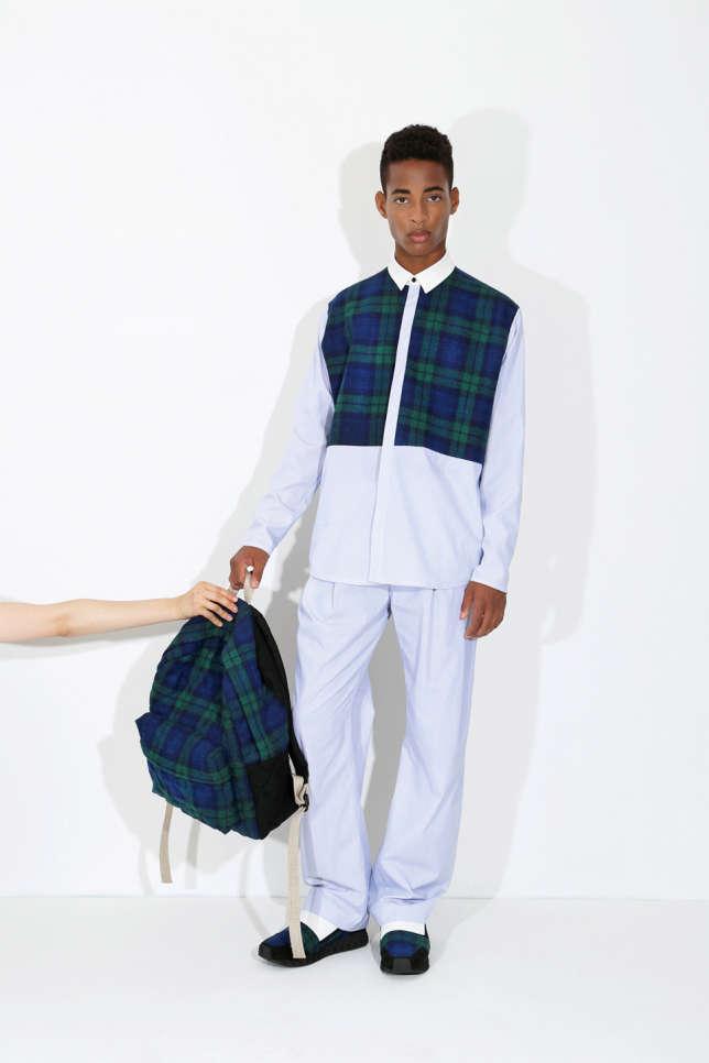 Sac à dos en tweed et laine recyclée Honest By.