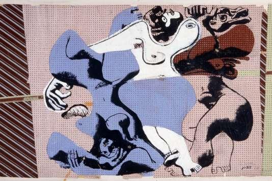 """""""Le Corbusier, le Jeu du dessin"""", au Musée Picasso d'Antibes."""