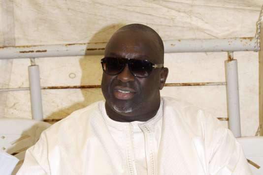 Papa Massata Diack le 8 février 2015 à Dakar.