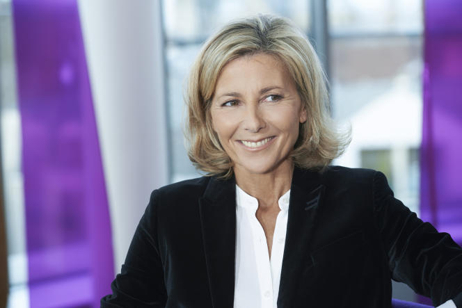 Claire Chazal, rentrée janvier 2016.