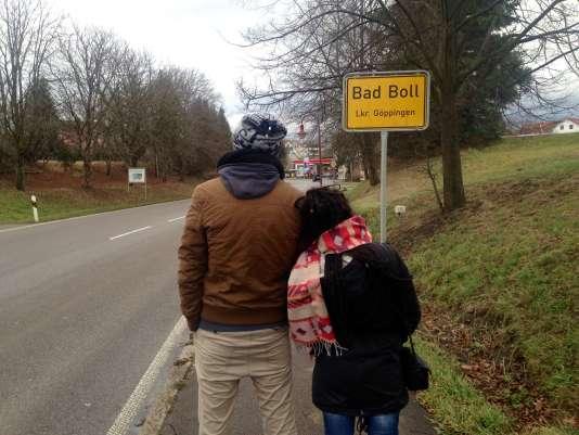 Kholio et Dash, réfugiés syriens en Allemagne.