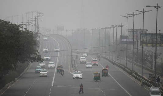A New Delhi, le 15 janvier 2016.