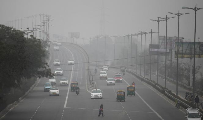 New Delhi, une des villes les plus polluées du monde.