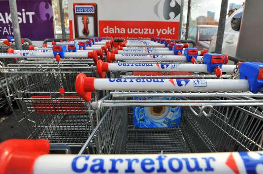 Carrefour a juste conservé son activité en Chine, même si les ventes se sont effondrées de 13,5% à magasin comparable.