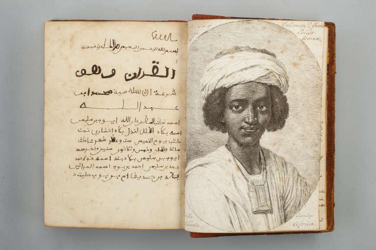 Portrait d'Ayuba Suleiman Diallo.