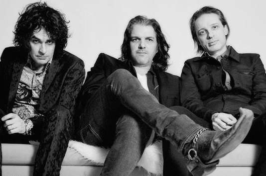 Le trio new yorkais Jon Spencer, Russell Simins et Judah Bauer.