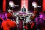 """Sur le plateau de l'émission """"+ D'Afrique"""" présentée par Robert Brazza (au centre)."""