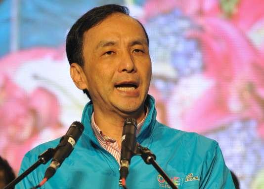 Eric Chu, candidat du KMT, a reconnu sa défaite.